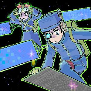 レーダ2号くんと光学3号くん