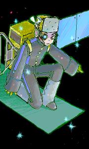 情報収集衛星 レーダ2号 ヒューマンフォーム